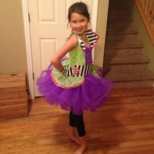 Girl's Ballet Dance Costume